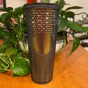 BNWT 2020 Black Iridescent Studded 24 oz Cold Cup